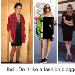 The little black dress Part II – Do it like a fashion blogger
